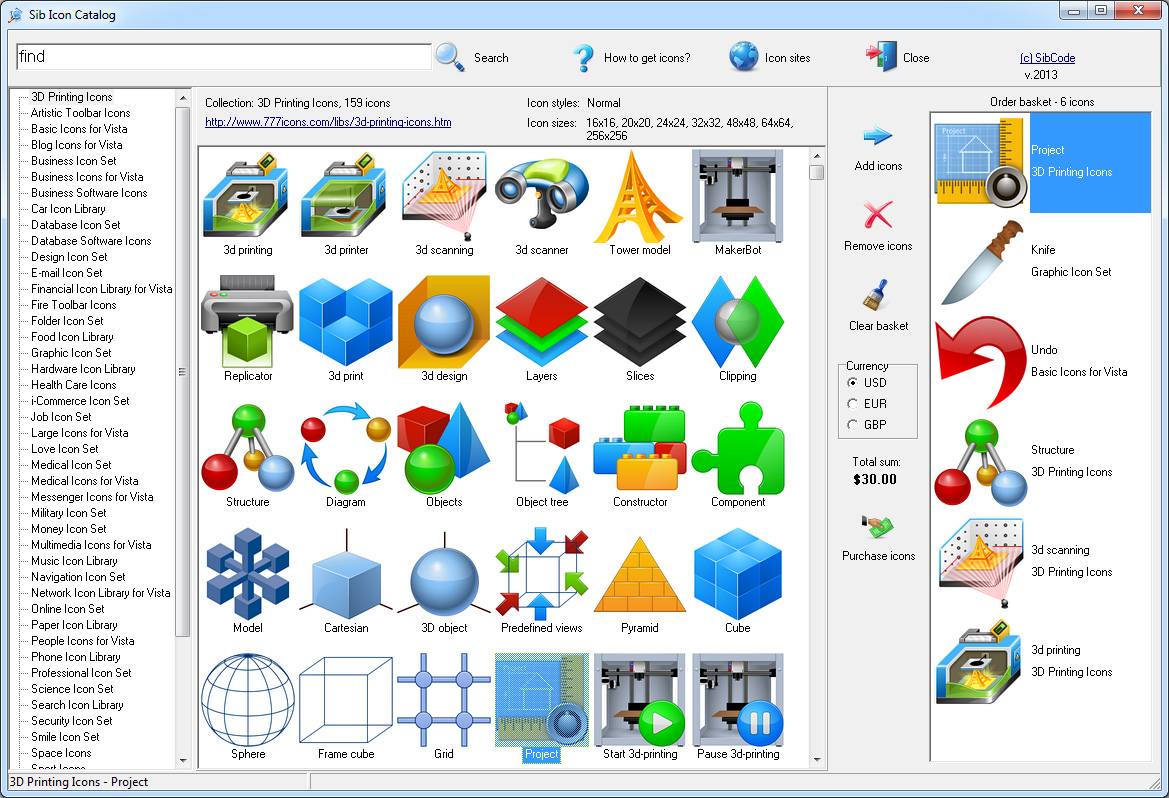 Icon catalog to search stock icons icon catalog software ccuart Images