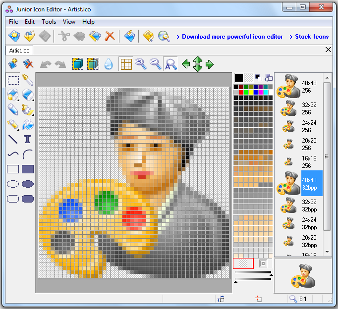 Free Icon Editor And Icon Maker