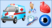 Medical Icon Set for Windows 7