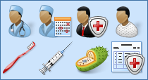 Perfect Doctor Icon Set