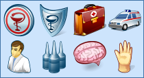 perfect medical icons