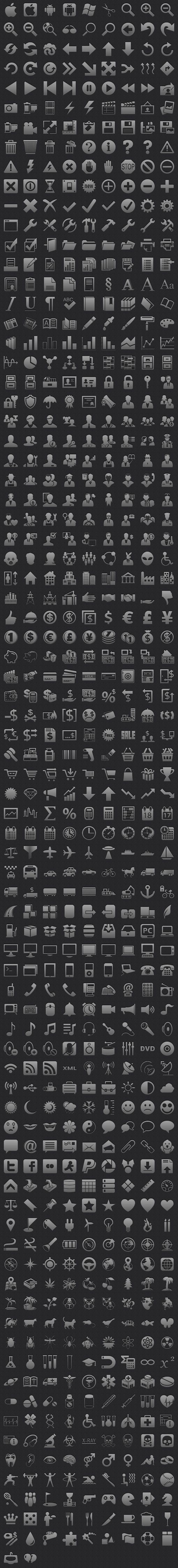 Toolbar Icons for iPhone