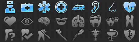 Medical iPhone Icons