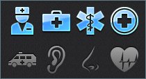 Medical iPad and iPhone Icons
