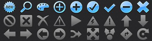 Retina App Tab Bar Icons