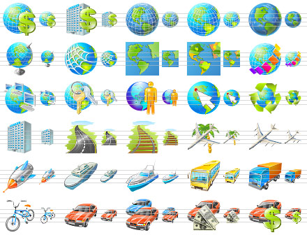 Click to view Travel Icon Set screenshots